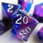 december tanzanite dice