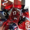 January Garnet dice