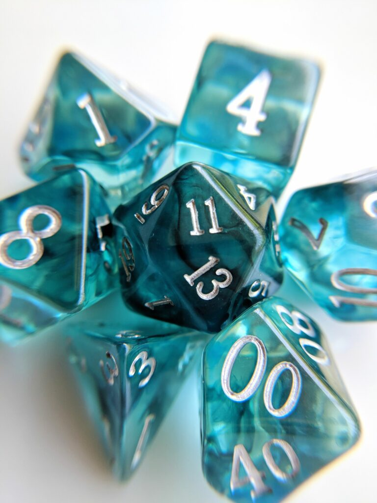 london blue topaz dice