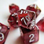 red topaz nebula dice