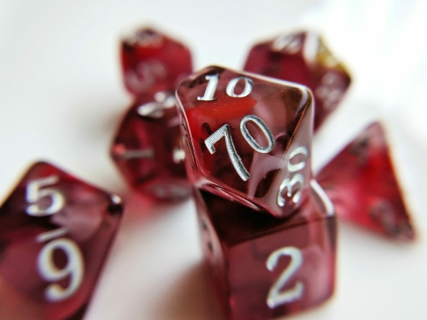 red topaz nebula dice