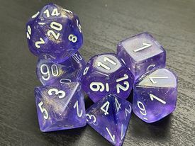 Borealis Purple/White
