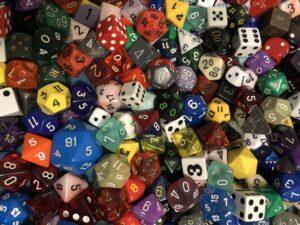 mystery dice
