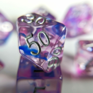 pink sapphire dice