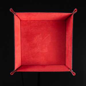 Moonie Red Dice Tray