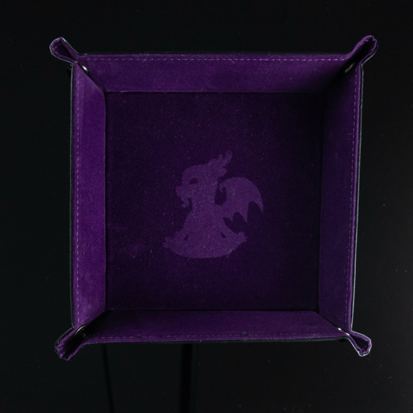Zen Purple Dice Tray