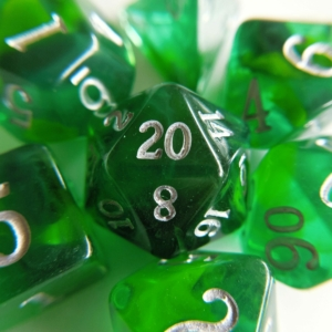 emerald dice