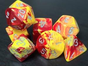 Gemini Red-Yellow w/Silver