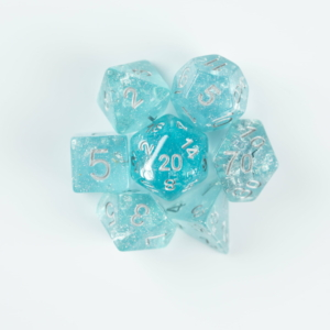 Light Blue Wedding Dice