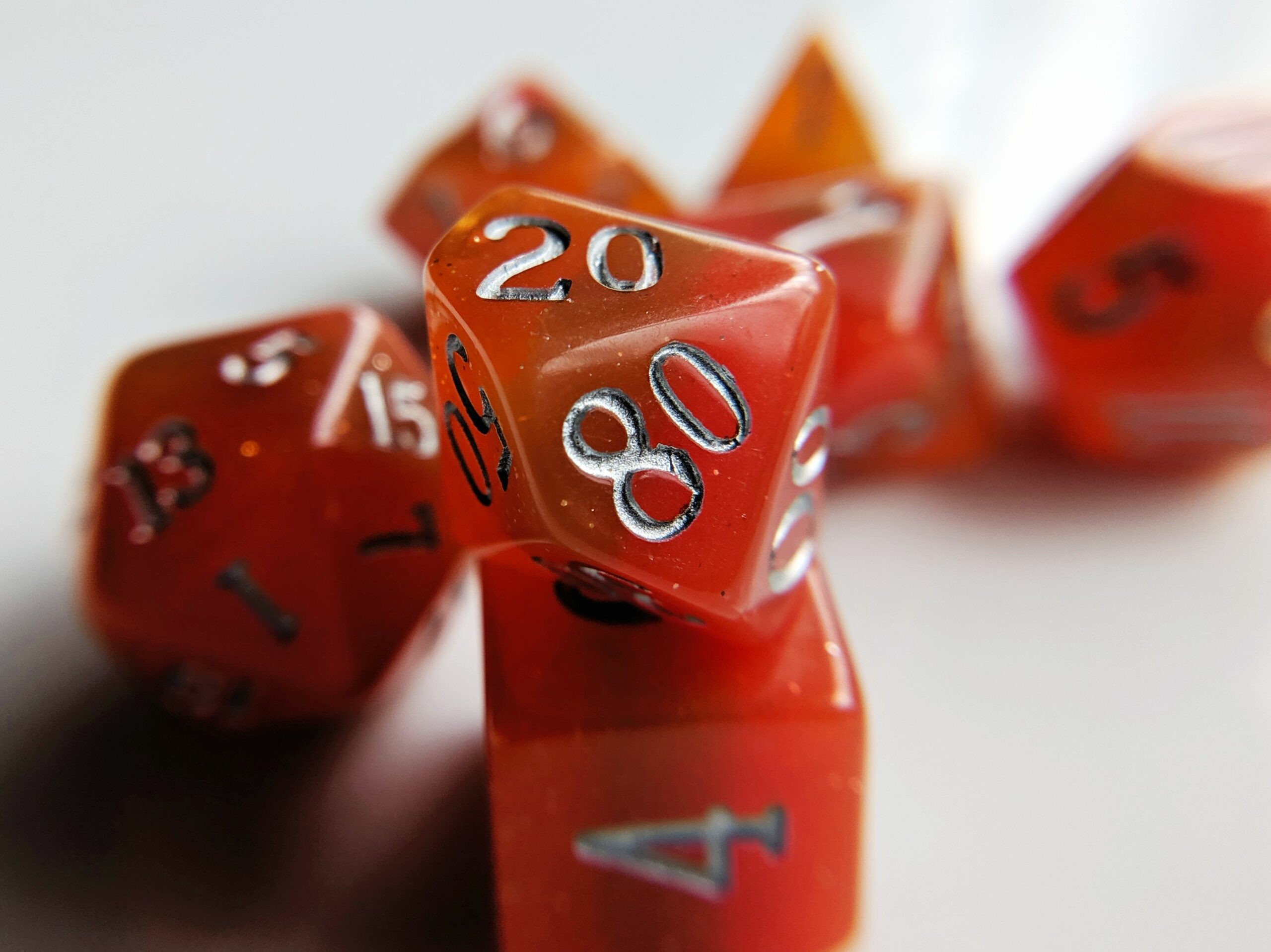 fire elemental dice