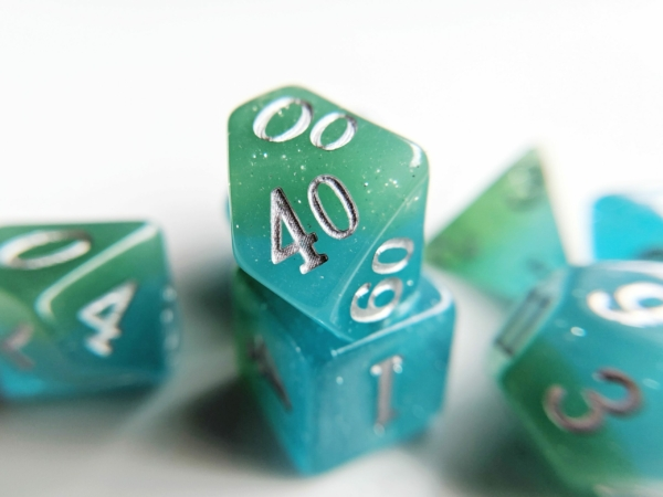 Tropical Ocean Elemental Dice