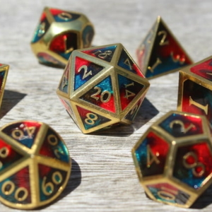 metal dangerous fire dice