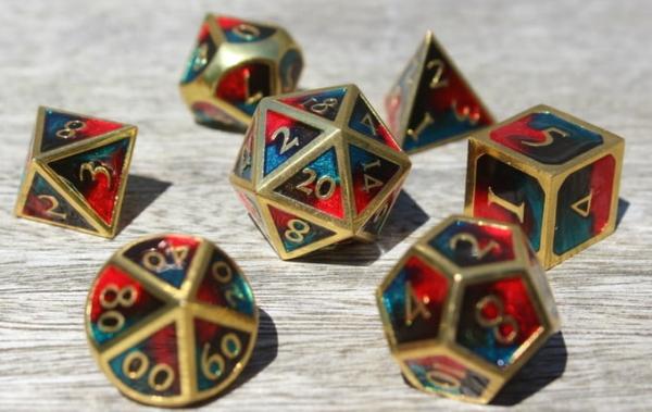 metal dangerous fire dice
