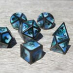 metal deep ocean dice