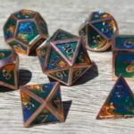 metal earth dice