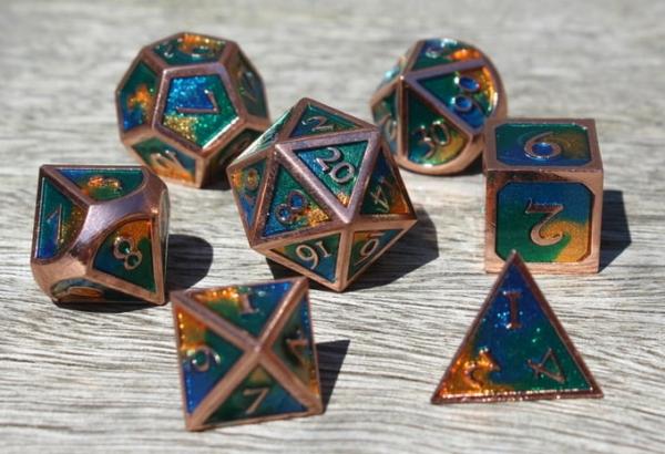 metal earth dice