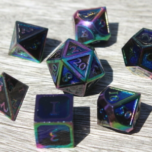 ether metal dice
