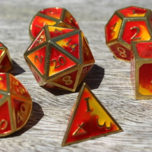 metal fire dice