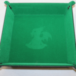 green dice tray
