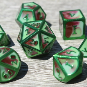 metal spring wind dice