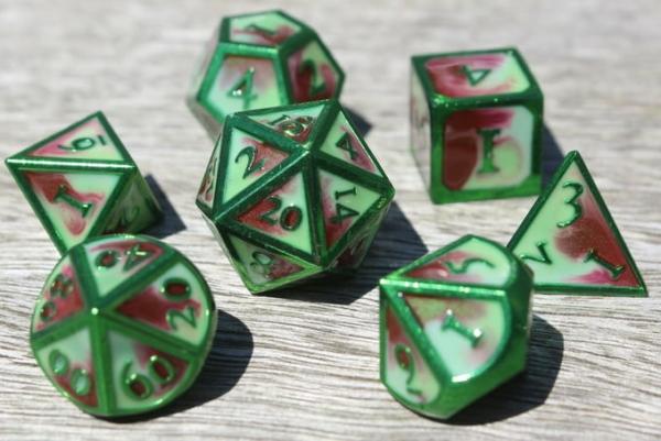 metal spring wind dice