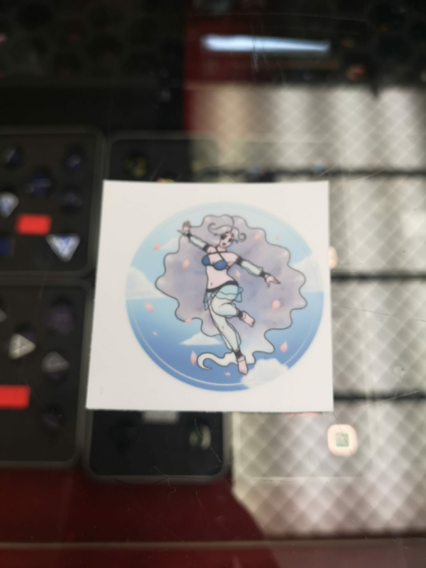 Moonie Sticker