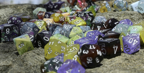 Dragons of little Dragon corp Dice