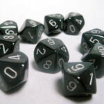 Chessex Borealis Smoke and Silver