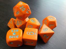 Heavy Orange/Turquoise