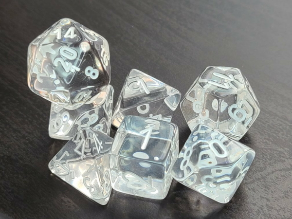 Translucent Clear/White
