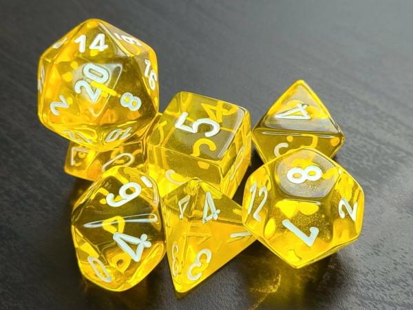 Translucent Yellow/White