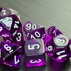 Translucent Purple/White