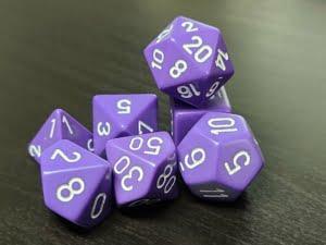 Opaque Purple/White