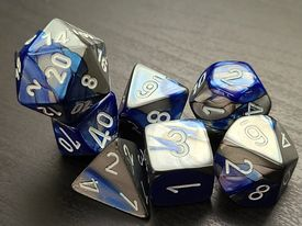 Gemini Blue-Steel/White
