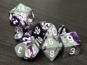 Gemini Purple-Steel/White
