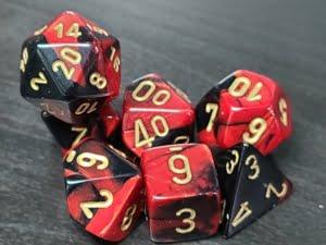Gemini Black-Red/Gold