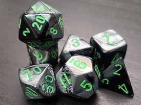 Gemini Black-Grey w/Green