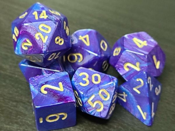 Lustrous Purple/Gold
