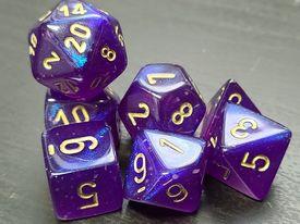 Borealis Royal Purple/Gold
