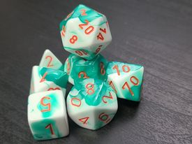 Gemini Mint Green-White/Orange