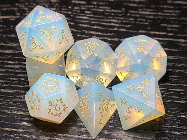 Opalite Carving