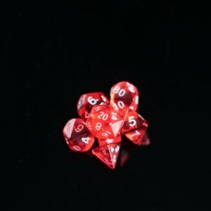 Mini Red Transparent
