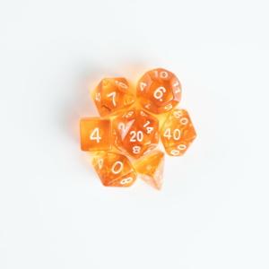 Mini Orange Transparent