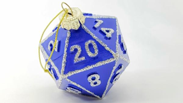 Blue D20