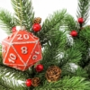 Red D20