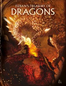 Fizban's Treasury of Dragons Alt Cover