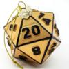 Gold D20