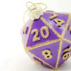 Purple D20