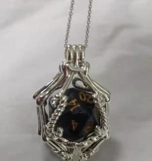 Silver Gemstone Pendant